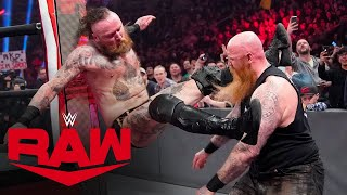 Aleister Black vs. Erick Rowan: Raw, Feb. 24, 2020