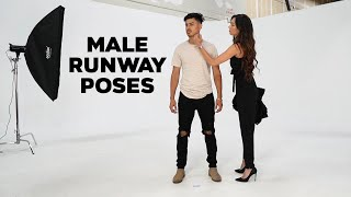How To Pose On The Runway   Male Model Ramp Walk Tutorial