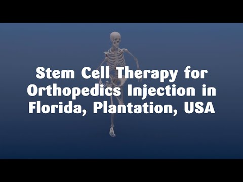 Affordable Package for Stem Cell Therapy for Orthopedics Injection in Florida, Plantation, USA