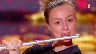 Fanny joue 'Badinerie' & 'Le vol du bourdon' à la flûte traversière - Prodiges 2