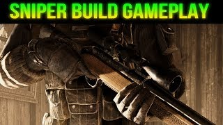 Fallout 76 Sniper Build Gameplay!