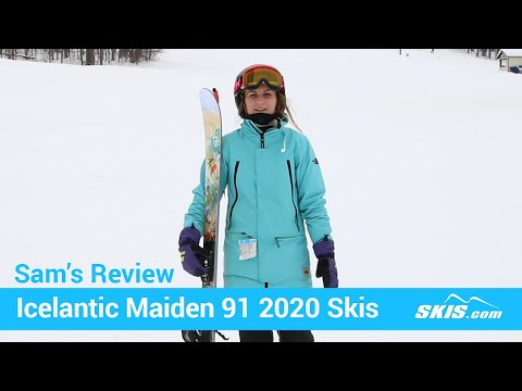 Video: Icelantic Maiden 91 Skis 2020 17 40