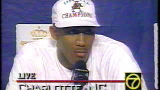 1994 Arkansas Razorbacks Championship Post Game Interviews And Ceremony