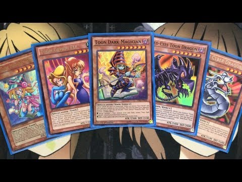 My Toon Yugioh Deck Profile for July 2019
