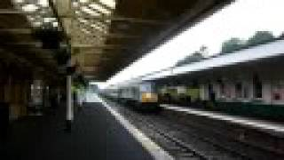 preview picture of video 'Enterprise passing Lisburn station'