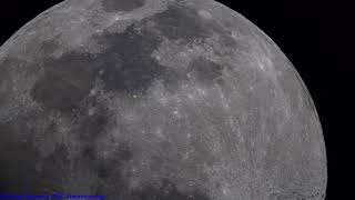 Star In Constellation Of Cancer & 4K High Quality Telescope Footage Of The Moon