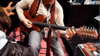 Ihâb Radwan PMC Guitars Byblos (electric oud) Seymour Duncan, Bogner XTC, HiWatt (2/2)