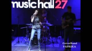 Arina Vyazova & coverband Paprika