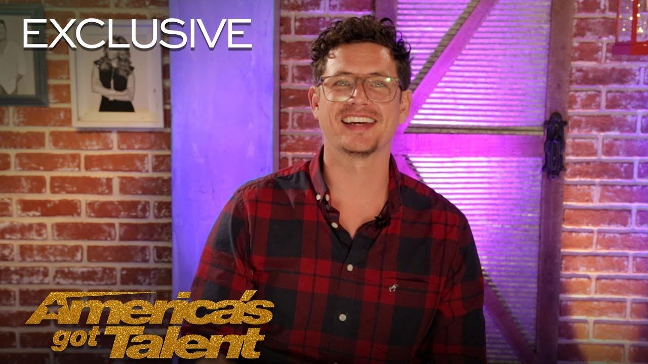 Michael Ketterer Thanks Simon Cowell For The Golden Buzzer - America's Got Talent 2018 thumbnail