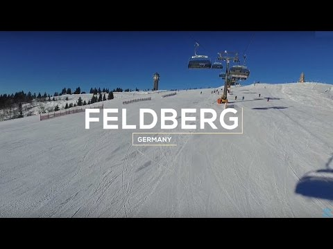 Skigebiet Feldberg/Schwarzwald: Perfekter Wintertag