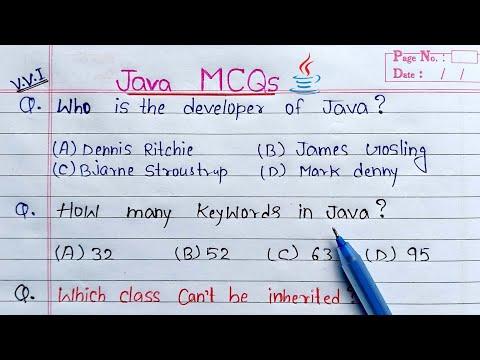 Java MCQs for Interview and Exams | इससे बाहर नही आएगा exam में