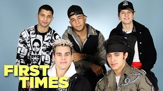CNCO Tells Us About Their First Times