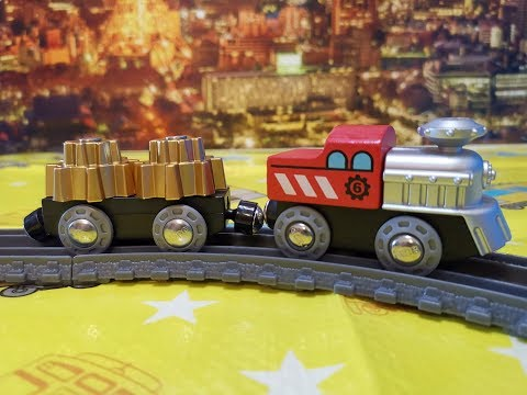 Hape Toys Cogwheel Train - Zug Mit Zahnrad in motion (000311)