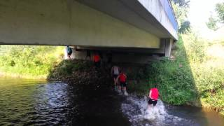 preview picture of video 'Cold Water Challenge 2014 des Lauftreffs Wettringen'