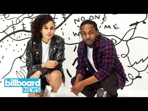 Kendrick Lamar & Visual Artist Shantell Martin Give Mind Blowing Art Basel Show | Billboard News
