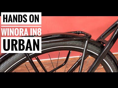 Hands On : WINORA iN8 Urban Pedelec integrierter Bosch Akku  Alfine