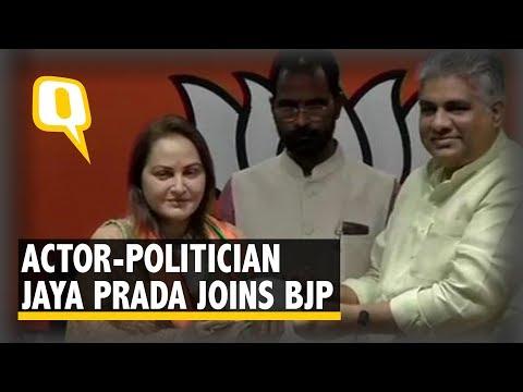 f1d347bbac6f 2019 Elections  Jaya Prada joins BJP