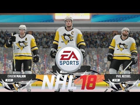 NHL 18 Beta AI Gameplay