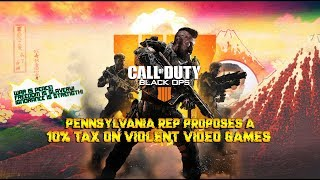 pennsylvania representative proposes tax on violent video games