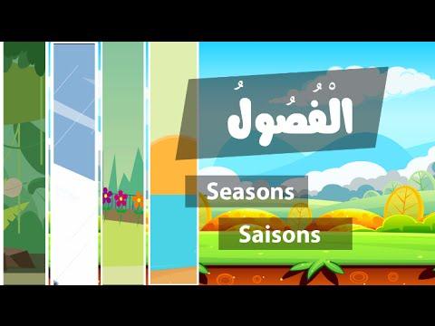 Learn arabic (Seasons) – Apprendre l'arabe (les saisons) – تعلم الفصول بالعربية