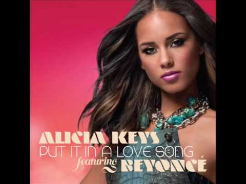 Put It In A Love Song Lyrics – Alicia Keys