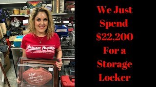 Storage Wars We just bought 2 Lockers for $22,200 at Storage Auction