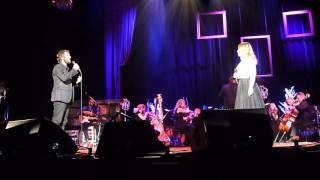 "Josh Groban & Louise Dearman ""If I loved you"", Oslo Konserthus 06.05.16"