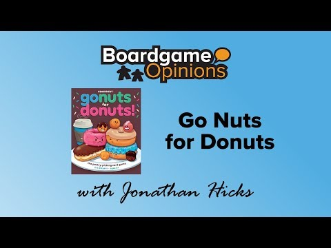Boardgame Opinions: Go Nuts for Donuts