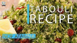 TABOULI Vegetarian Salad Recipe - Chef Nof Atamna - Mediterranean Cuisine