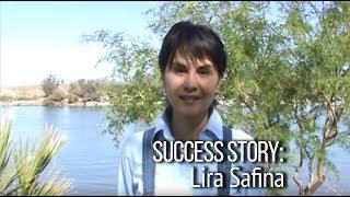 Общение на английском. Отзыв о Виртуальной школе Наташи Купер. Success Story: Lira Safina.