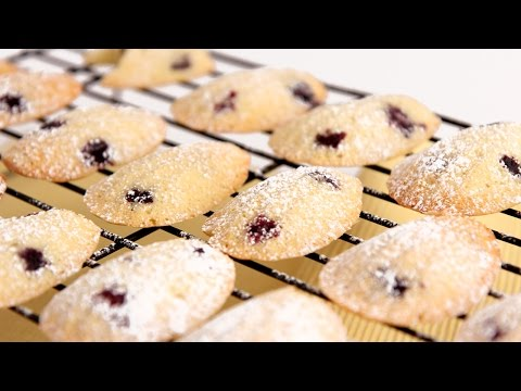 Lemon Blueberry Madeleine Recipe – Laura Vitale – Laura in the Kitchen Episode 797