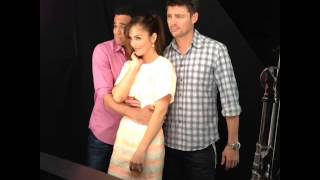 Almost Human Photo Shoot for EW (2013)