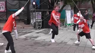 ダブルダッチ 縄跳びでダンス 「A.T.W !   DAISHI DANCE」