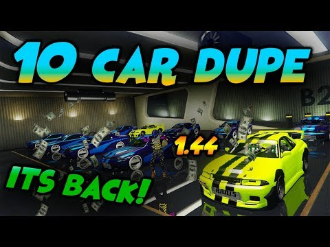 *DOPEST MONEY GLITCH*DUPE 10 CARS AT ONCE*WORKAROUND*GTA 5 ONLINE CAR DUPLICATION GLITCH(PATCH 1.44)