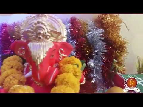 Mandar Kulkarni Home Ganpati Decoration Video