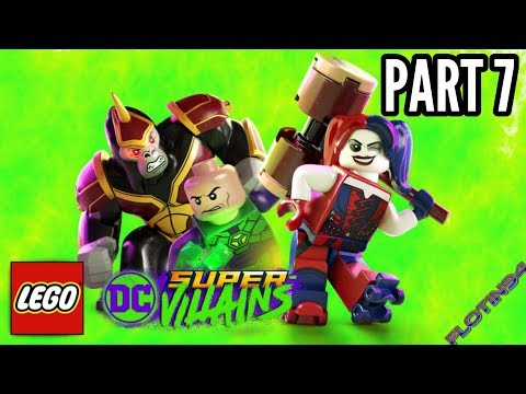 LEGO DC Super Villains #7 | GREEN LANTERN CORPS!