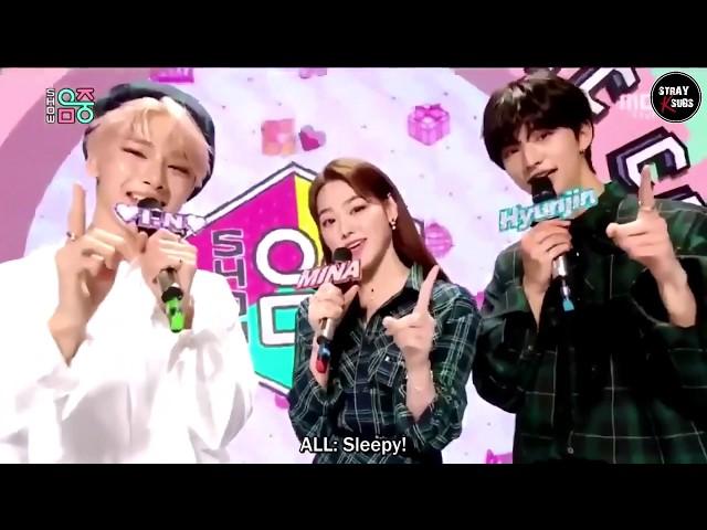 [ENG SUB] 190921 Stray Kids Hyunjin & I.N Music Core MC Cuts