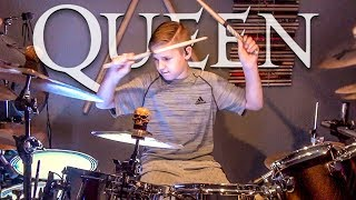 BOHEMIAN RHAPSODY - QUEEN (age 11) Cover by Avery Drummer