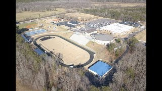 Haralson County High School (GA) from the air . . .
