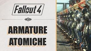 FALLOUT 4 - TUTTE LE ARMATURE ATOMICHE!! (NO MOD)