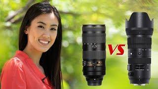 Sigma 70-200mm Sport VS Nikkor f/2.8E FL ED VR
