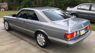 Tour of my Mercedes 560SEC! w126 Benz beauty.