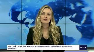 RTK3 Lajmet e orës 15:00 07.04.2020