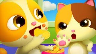 Mèo con Timi tham ăn   Hại khuẩn và lợi khuẩn   Nhạc thiếu nhi vui nhộn   BabyBus