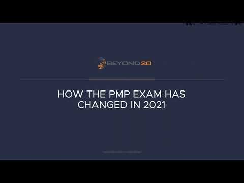 A New PMP Exam for 2021: What's Changed in version 7 - YouTube