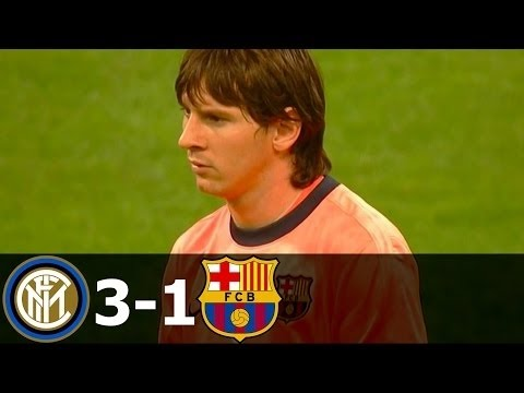Inter Milan Vs FC Barcelona 3-1 Highlights UCL 2009-2010 HD 720p Mp3