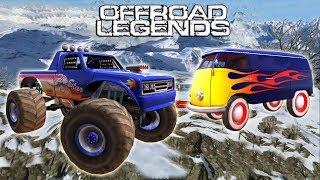 Мультфильмы про большие машинки супер прохождение игры на андроид Off Road Legends
