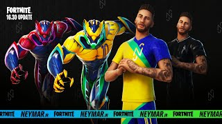 Fortnite New 16.30 Neymar Jr. Update Gameplay! (Fortnite Season 6)