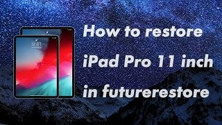 How to restore iPhone iOS 12 1 2 in futurerestore [Windows