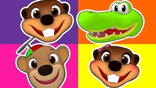 Days of the Week Song & More   3D Baby Rhymes, Learn Colors for Kids, ESL Toddler Learning Videos